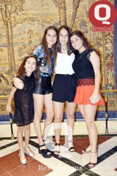 Carolina Soto, Victoria Soto, Ximena Ossio y María Joaquina Martínez