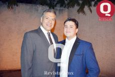 Chuy Manrique y Jesús Márquez