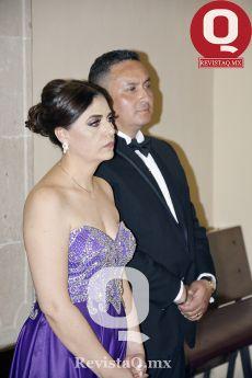Claudia Ruiz y Gonzalo García, papás de María Regina