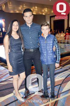 Diana Irania Salazar, Bernardo López y Emiliano López