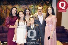 Giovanna Rivera, Francisco Javier García, Daniela García, María García, Miriam García y Juan Pablo García