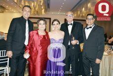 Luis Antonio Ruiz, Licha Ruiz, Claudia Ruiz, Antonio Ruiz y Mauricio Ruiz