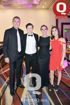 Luis Antonio Ruiz, Luis Fernando Ruiz, María Fernanda Campos y Andrea Ruiz
