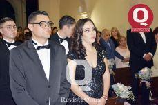 Mauricio Ruiz y Primavera de la Mora, padrinos de la quinceañera