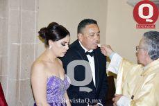 Recibieron la comunión Claudia Ruiz y Gonzalo García