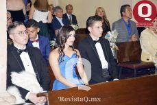 Aldo García, Astrid Plascencia y Orlando García