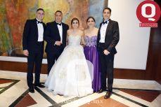 Aldo García, Gonzalo García, Regina García, Claudia Ruiz y Orlando García