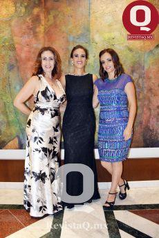 Ana Ruiz, Fernanda Campos y Alemdra Campos