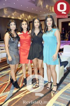 Estefanía Gutiérrez, Andrea Ruiz, Sali Alatorre y Sofía Azanza