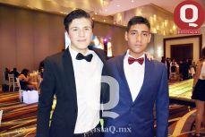 Juan Pablo Martínez y Luis Fernando Ruiz