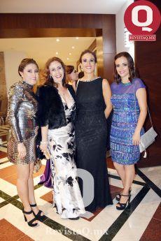 Libia Martínez, Ana Ruiz, Fernanda Campos y Almendra Campos