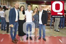 Alfredo Silva, Alejandra Silva, René Orozco Jr., Ale Orozco y René Orozco