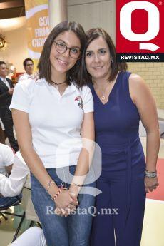 Ana Paola Andrade y Katia Bujaidar
