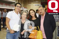 Andrés del Bosque, Emma de Obregón, Ma. Teresa Obregón y Guillermo del Bosque