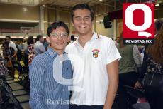 Antonio Acevedo y Luis García