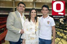 Arturo Navarro, Cecilia Lara y Arturo Navarro