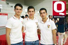 Arturo Navarro, Marco Trujillo y René Orozco