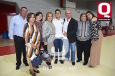Juan Raúl Villegas y familia