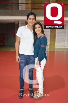Memo Márquez y Valeria Casas