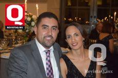 Diego Espinoza y Fabiola Aceves