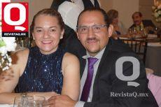 Elia de Regil y Antonio Mendoza