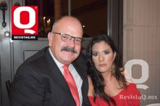 Fernando Reynoso y Paola Méndez