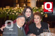 Guillermo Bonilla, Ximena Bonilla y Evangelina Bonilla