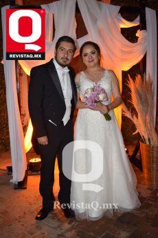 José Gerardo Camarena Bonilla y Ana Gabriela Moreno Hernández  se dan el sí