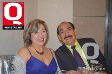 Julieta Domínguez y Adán Domínguez.