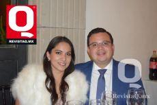 Laura Lozolla y Mario de Regil.