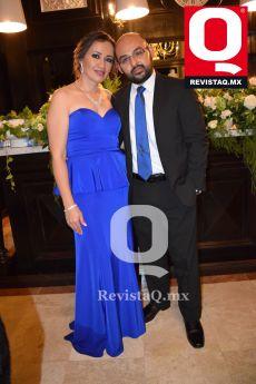 Linda Meléndez y Alejandro Moreno Hermano de la novia.