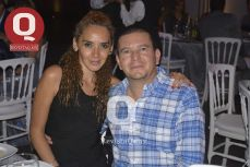 Betty Reyes con Carlos Soler