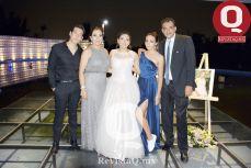 Alexa Padilla con Alejandra Orozco, Sofía Padilla y Sergio Padilla