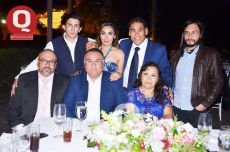 Alexis Ávila, Goretti Ávila, José Luis Ávila, Diego Ávila, Beto Ávila, Adriana Ávila y Carmen Ávila