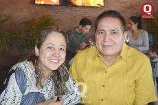 Enriqueta Rangel y Salvador Nieto