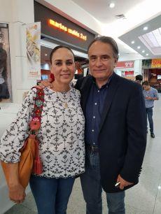 Tere Torres y Memo Romero