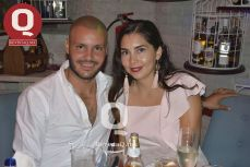 Ricardo Pérez y Pamela Amador
