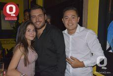 Emma Báez, David Reynoso y Ángel Valtierra