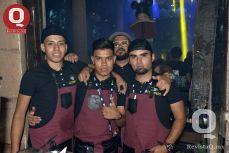 Emmanuel Galván, Adrián Gómez, Abraham Rodríguez y Adrián Urdiales
