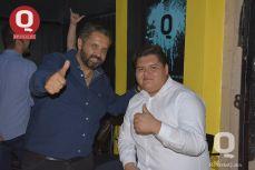 Gerardo Aguirre con Irvin Torres