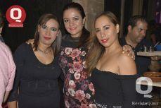 Mariana Orozco, Eréndira García y Liz Vera