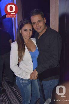 Sugey González y Rogelio Abaunza
