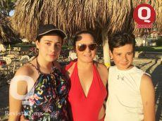 Verónica Ortega, Valentina Ortega, Emiliano Ortega