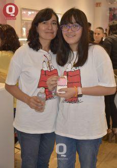 Leticia Romo y Montserrat Hernández
