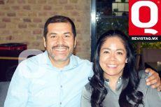 Francisco Alvarado y Claudia Mireles