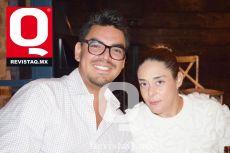 Luis Verdin y Eleonora Muñoz