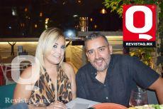 Marisol Poggio y Julio Rocha