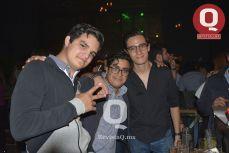 Emiliano Montiel, Adrián Clouet e Iñaki Pasini