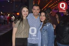 Jacqueline López, Josué Villegas y Fernanda Martínez