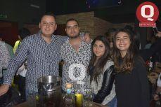 Luis Ramírez, Mauricio Ismael, Elianysse García y Gabriela Licona